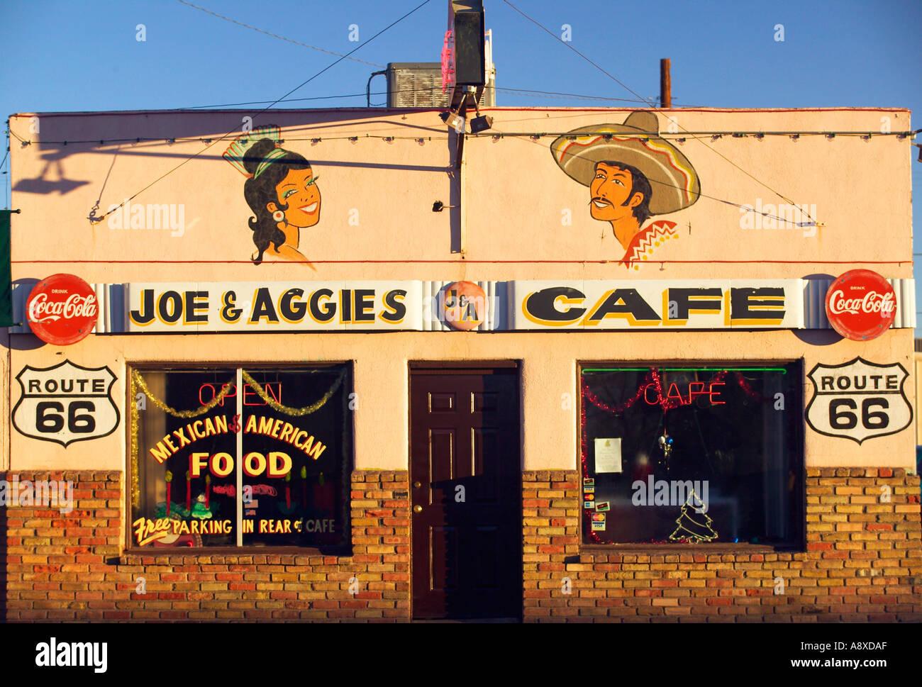 Cafe On Route 66 Arizona Stock Photos & Cafe On Route 66 Arizona ...