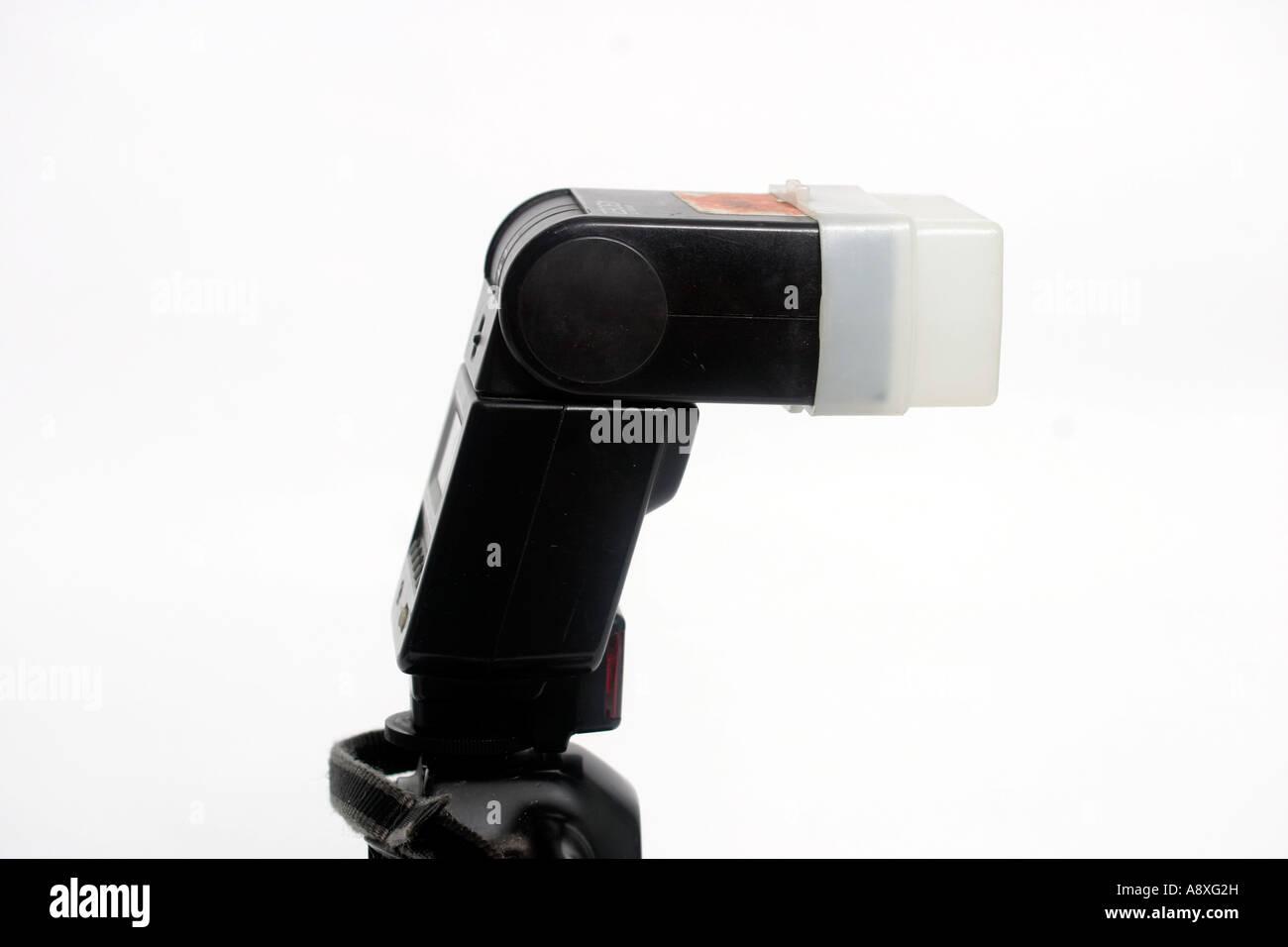 Canon EOS1 430ez electronic flashgun - Stock Image
