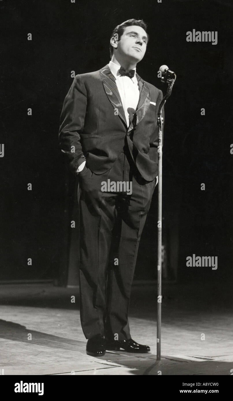 ANTHONY NEWLEY UK actor singer about 1963 - Stock Image
