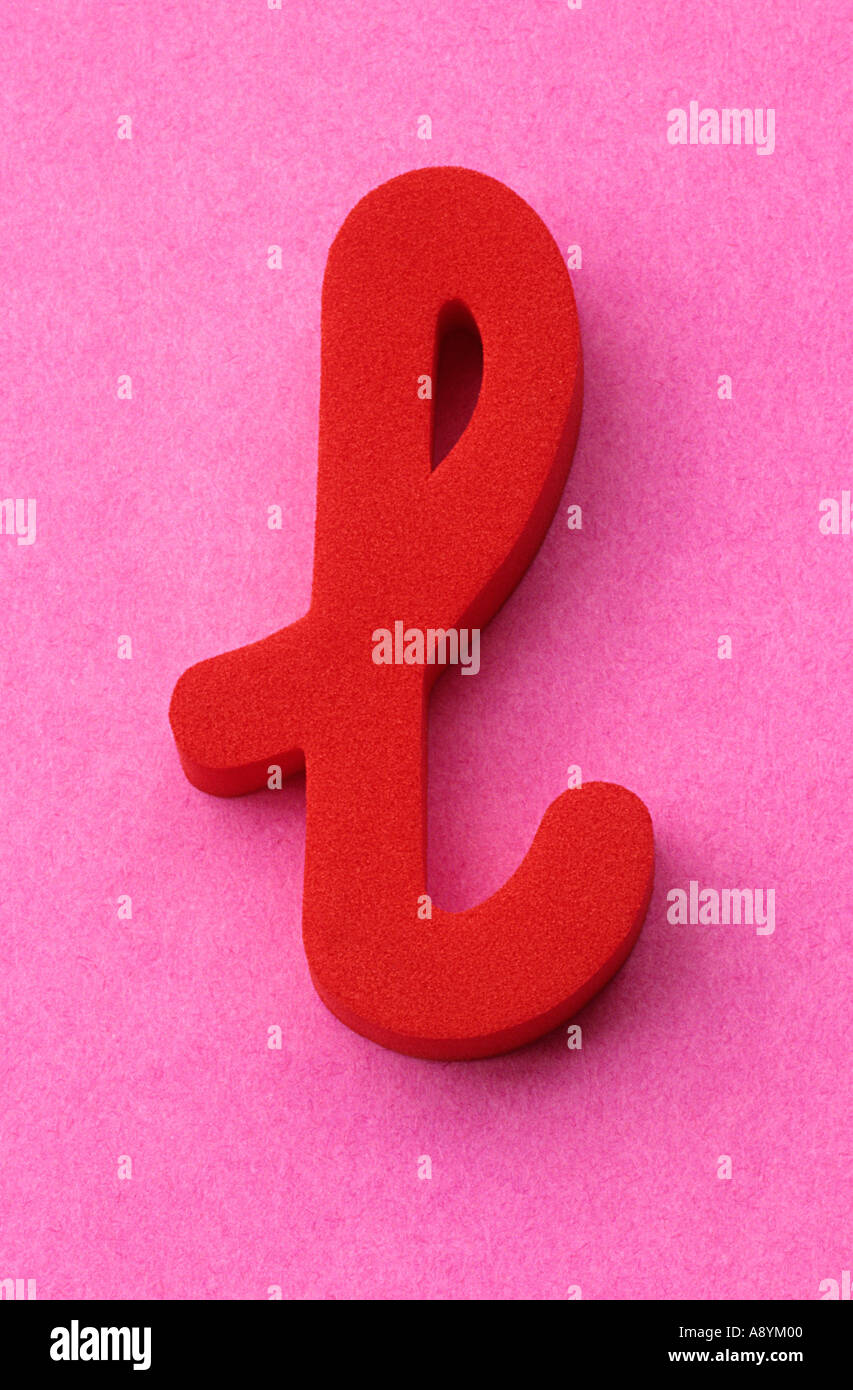 Letter L Lowercase Stock Photos & Letter L Lowercase Stock Images ...