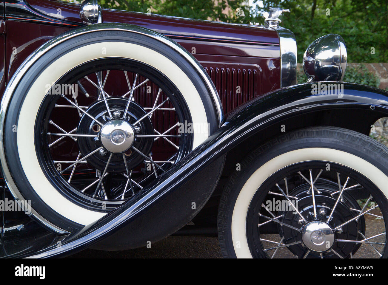 1930 Ford A Classic Car - Stock Image
