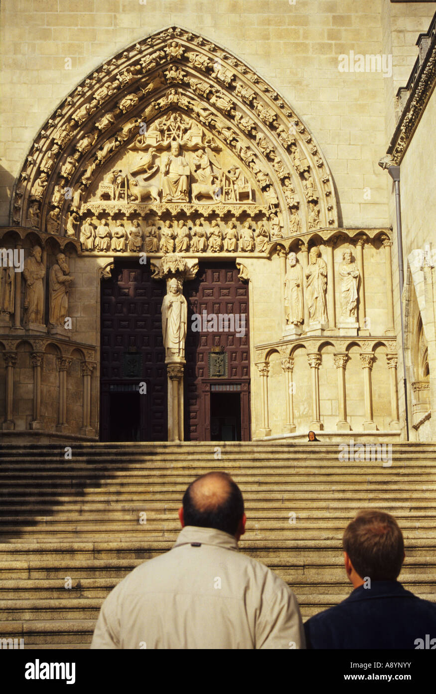 Burgos Cathedral BURGOS Castile and Leon Spain - Stock Image