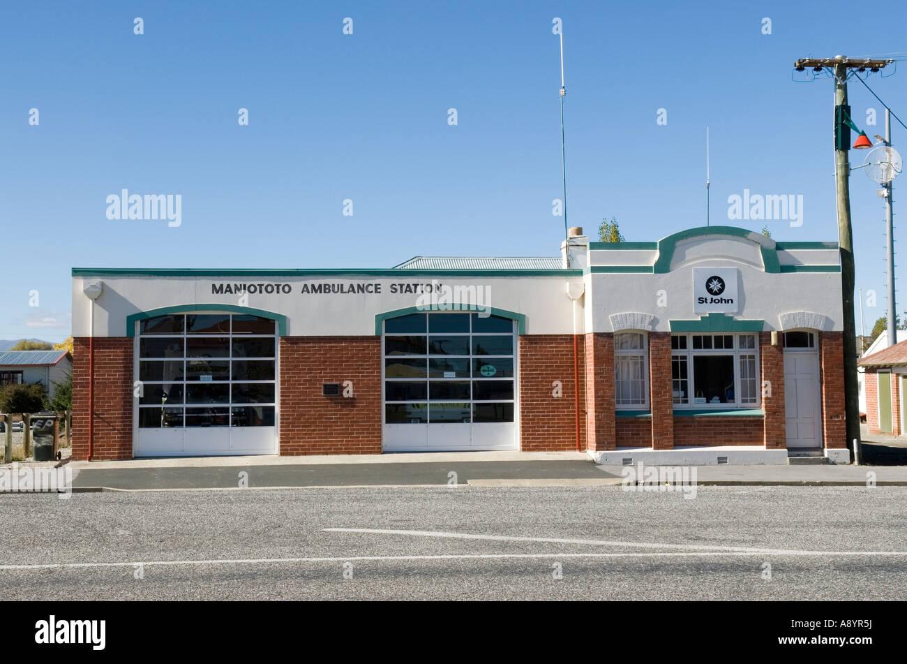 Maniototo St John Ambulance centre Ranfurly New Zealand - Stock Image
