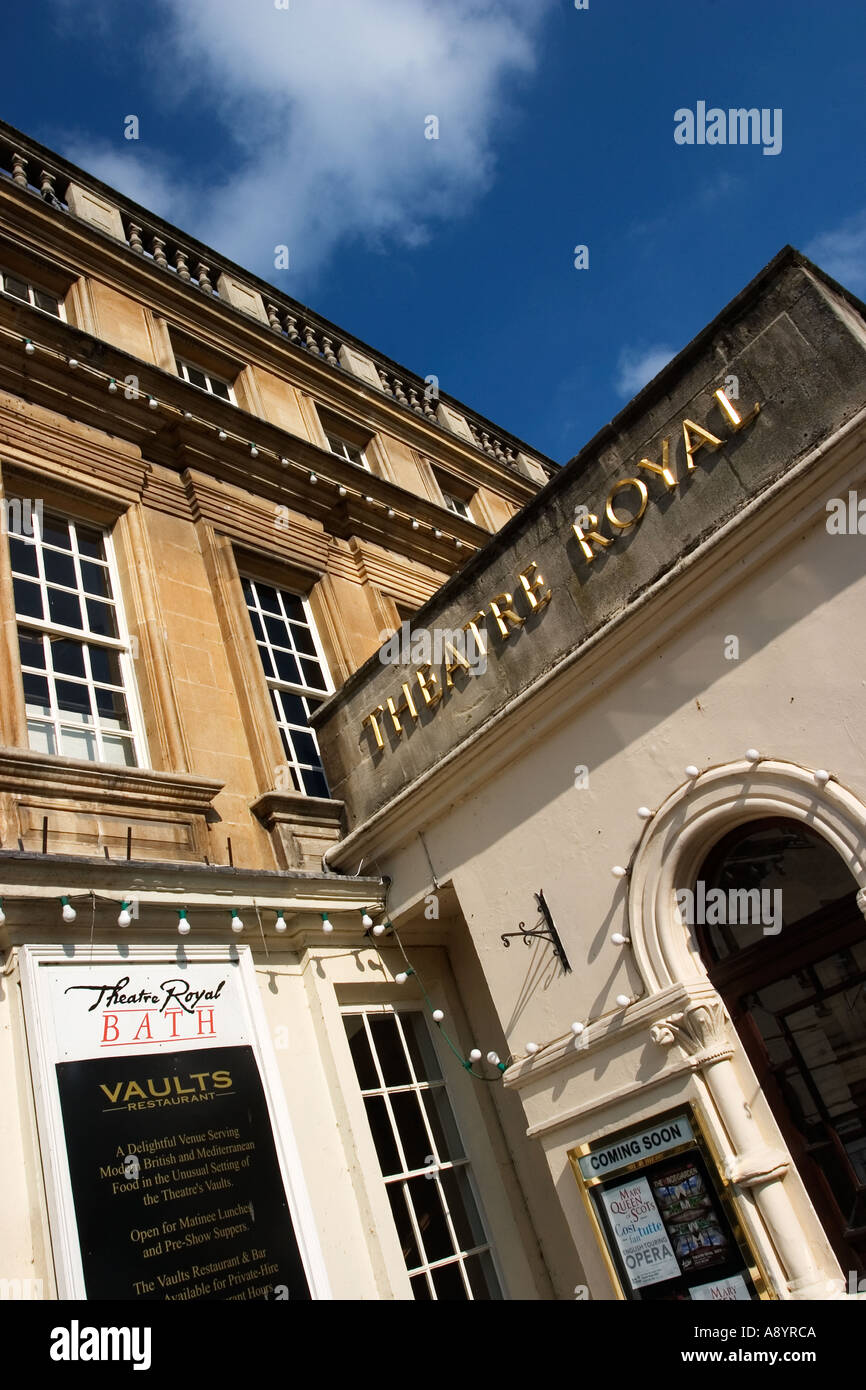 The New Theatre Royal in Bath Somerset England Stock Photo