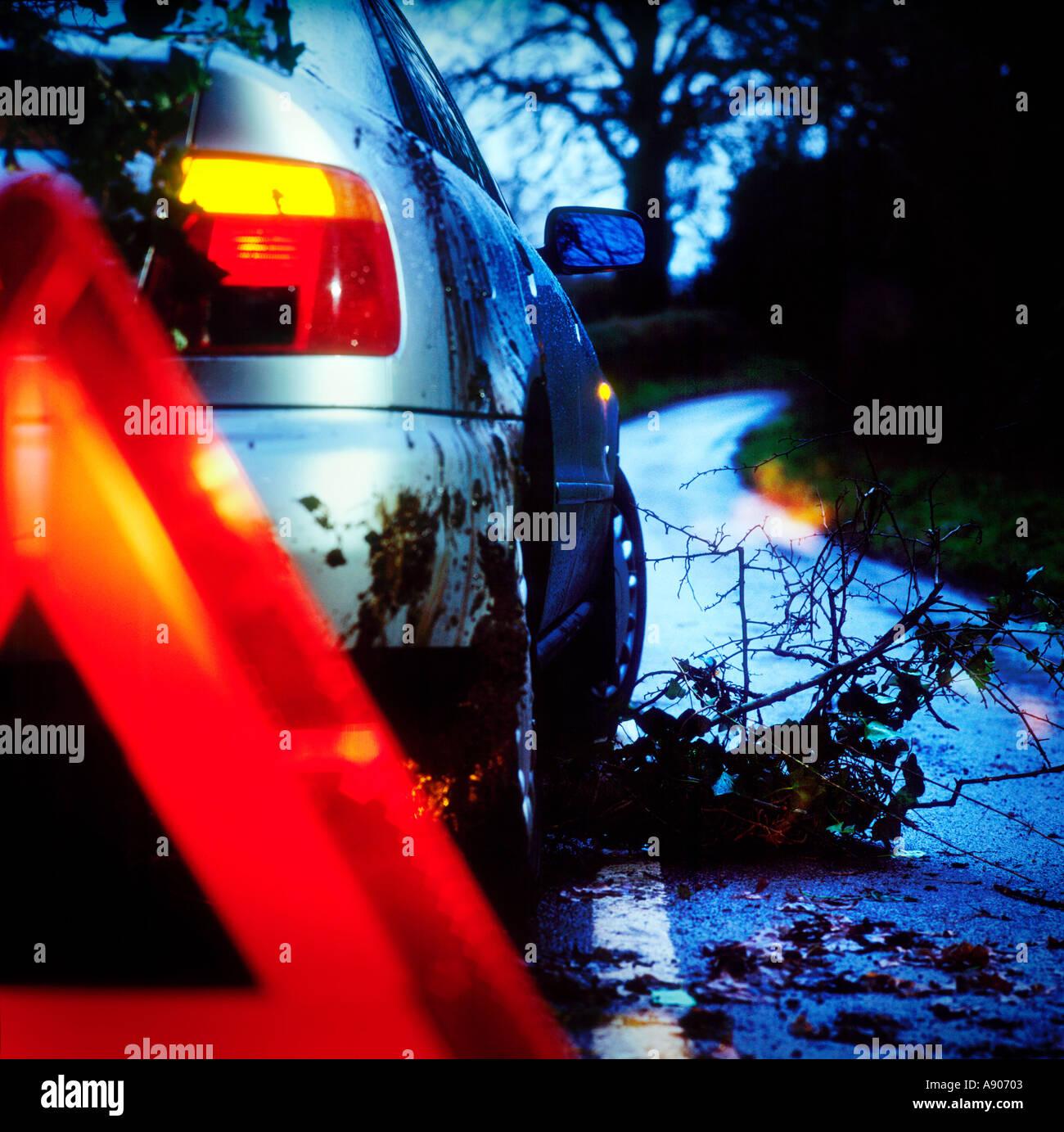 Wimbledon Stadium Lights: Car Crash Uk Night Stock Photos & Car Crash Uk Night Stock