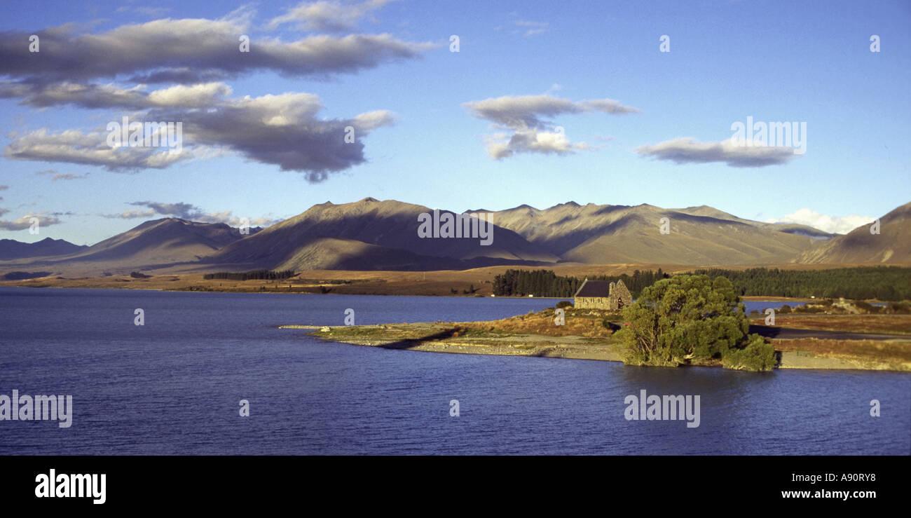 New Zealand Lake Tekapo - Stock Image