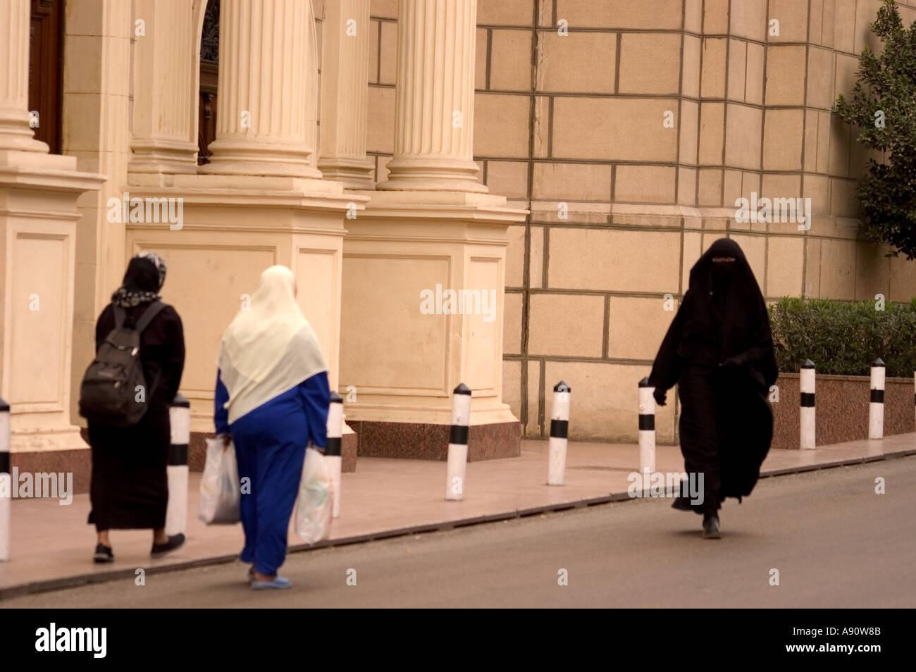 Street Scene Outside Abdeen Palace Museum Cairo Egypt North Africa
