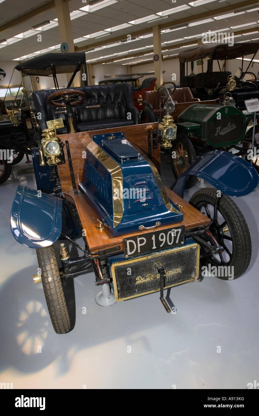 1907 veteran De Dion Bouton Model AL Southward Motor Museum Paragaraumu North Island New Zealand - Stock Image