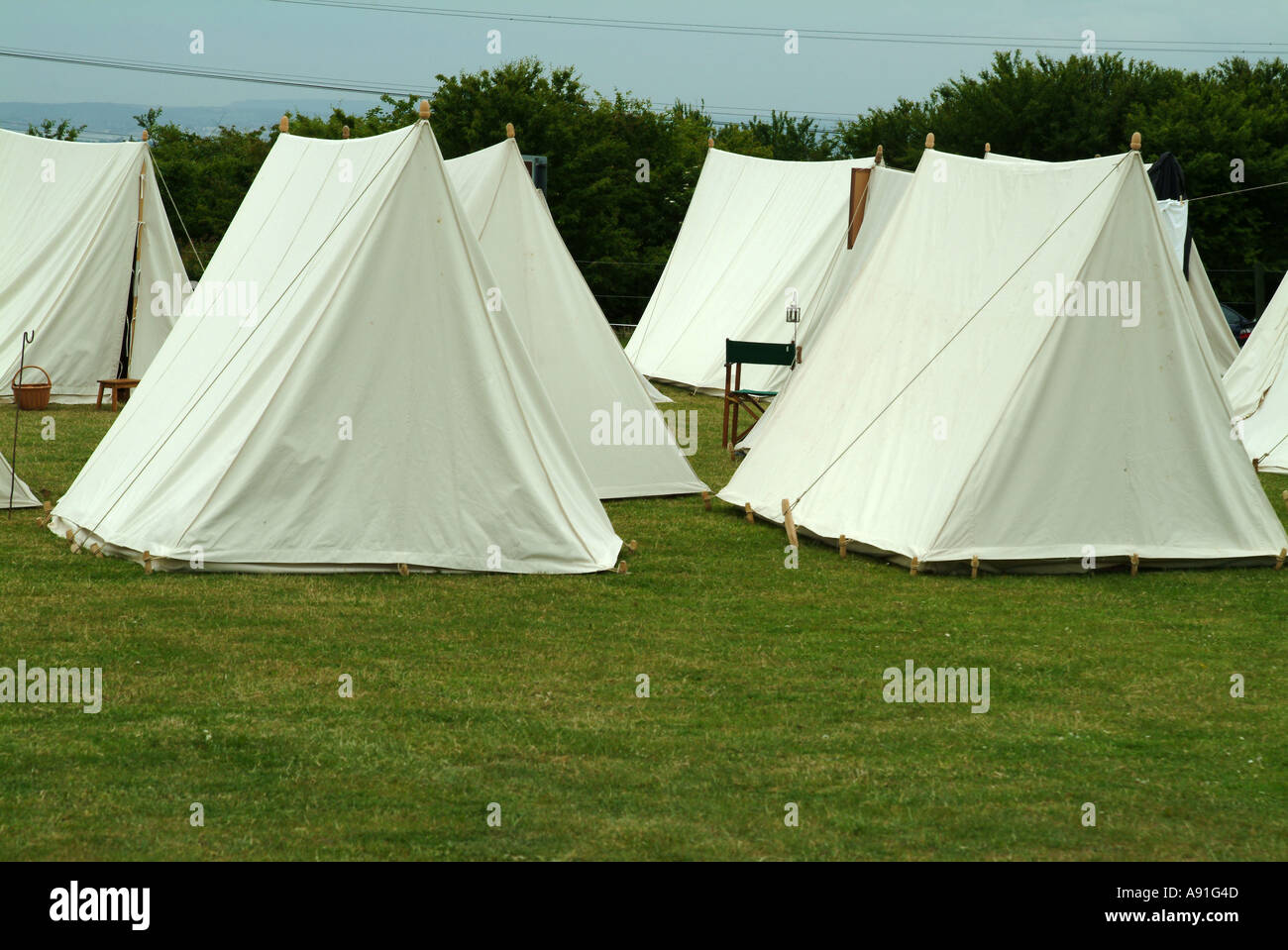 Old Fashioned tent & Old Fashioned tent Stock Photo: 3988556 - Alamy