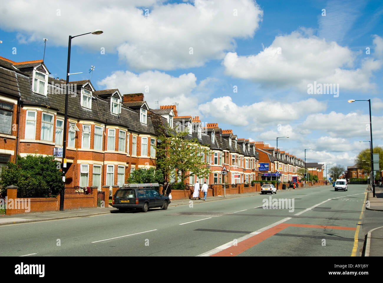 cheetham hill road manchester uk 2007 stock photo. Black Bedroom Furniture Sets. Home Design Ideas