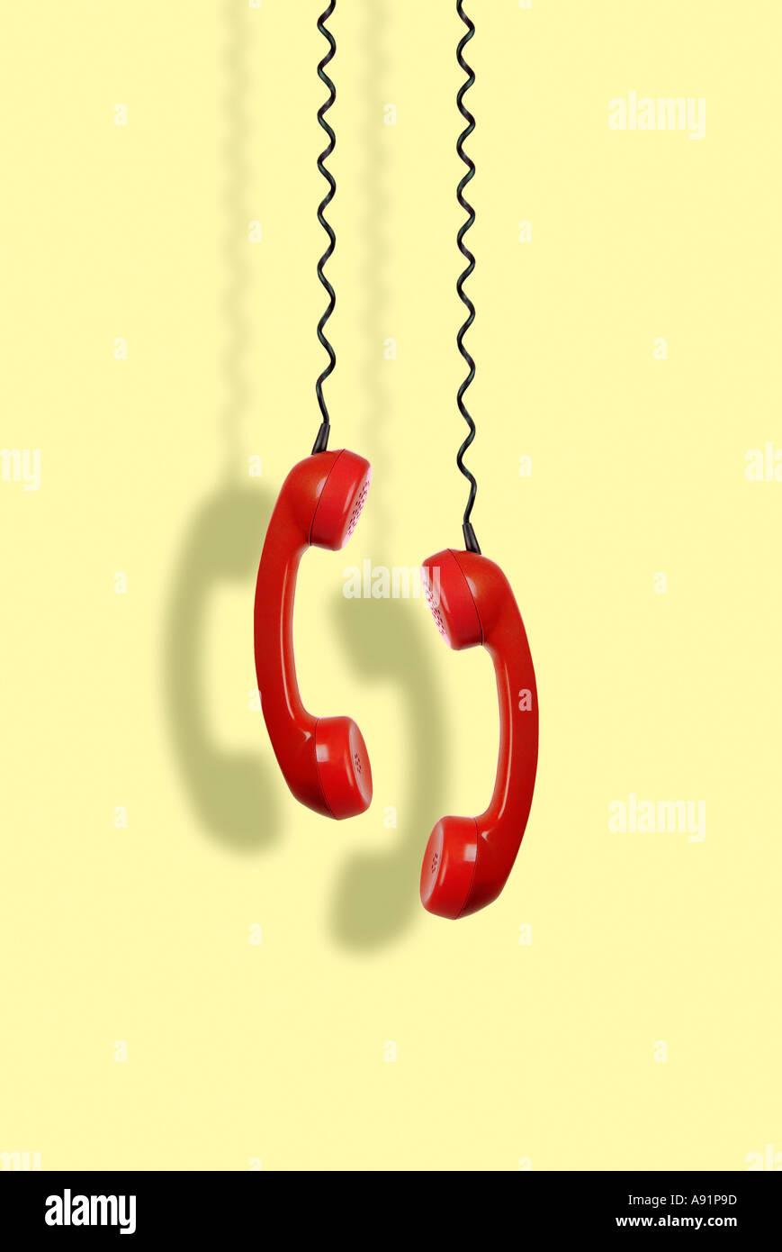 telephones Telefone - Stock Image