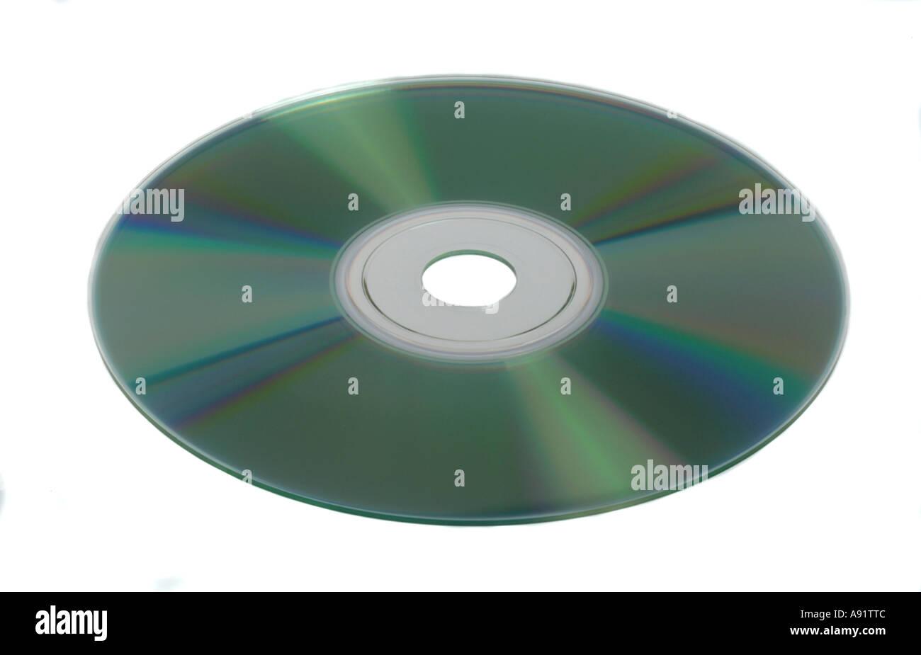 CD DVD Compact disc digital versatile disc - Stock Image