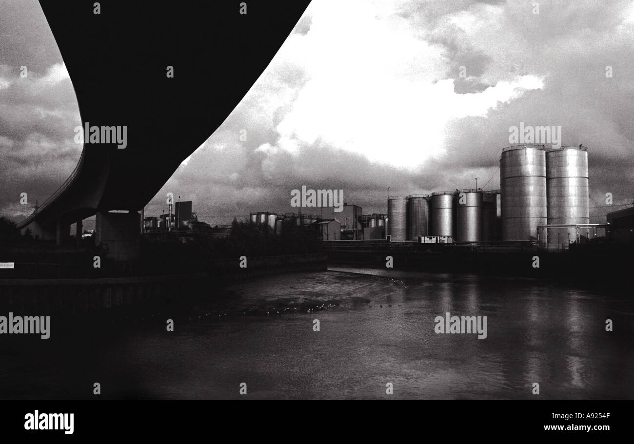 Industrial Landscape Canning Town London