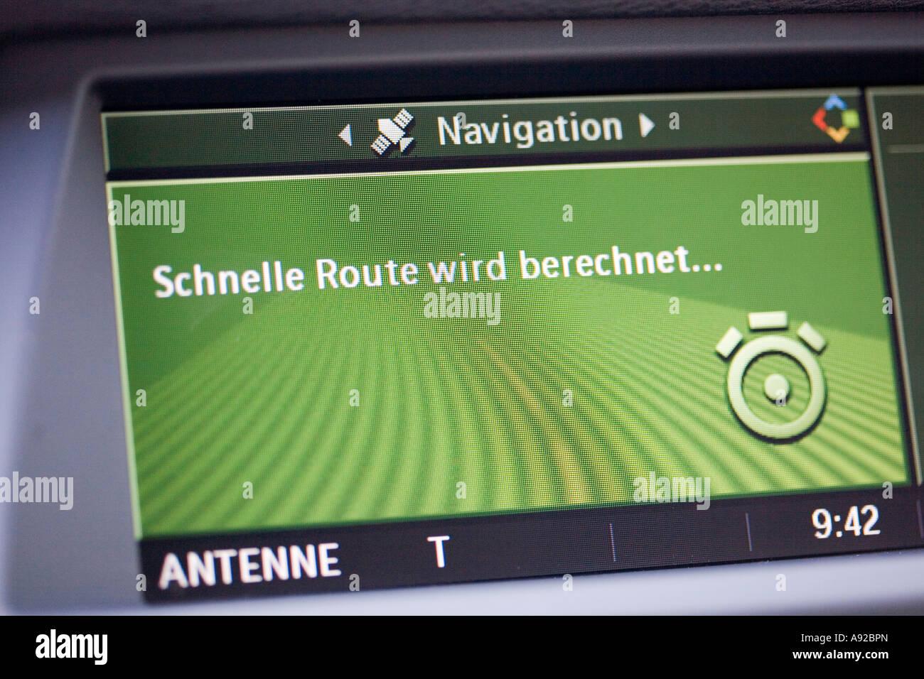 Navigation system - Stock Image