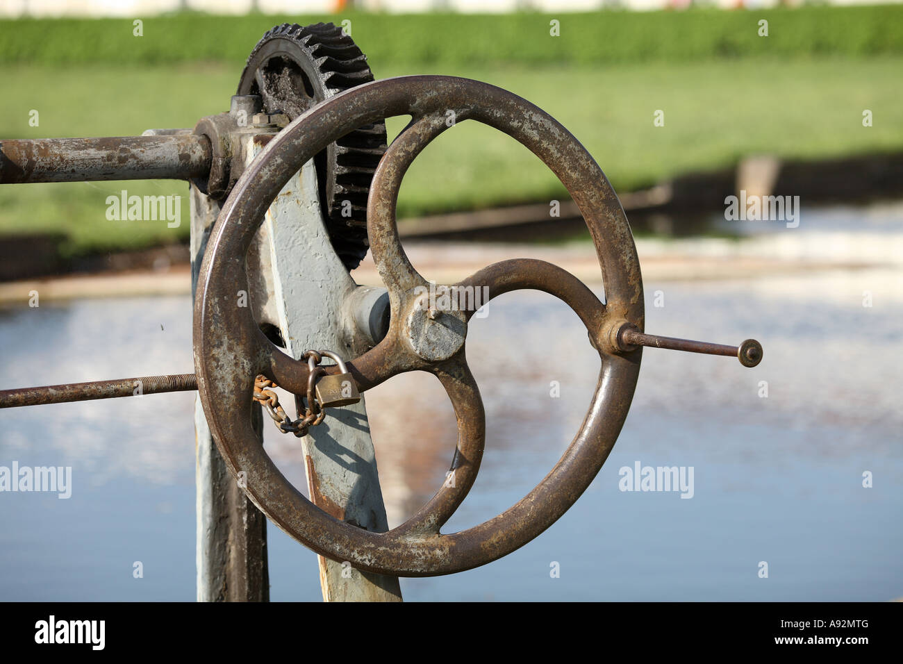 Crank handle Stock Photo: 12231135 - Alamy