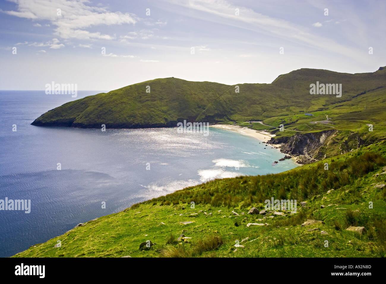 Keel Beach Achill Island County Mayo Eire - Stock Image