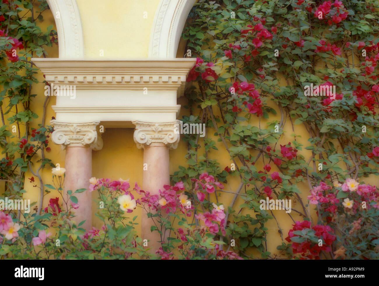 Villa Ephrussi de Rothschild  Saint-Jean-Cap Ferrat  France - Stock Image