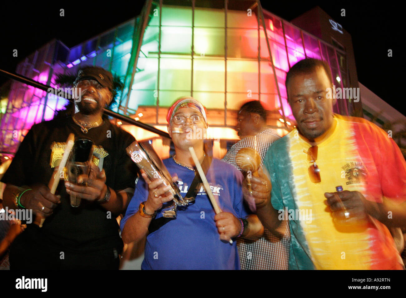 Dancing With Haitians At La Fete De >> Miami Beach Florida 5th Fifth Street Haitian Rara Band Parade Dance