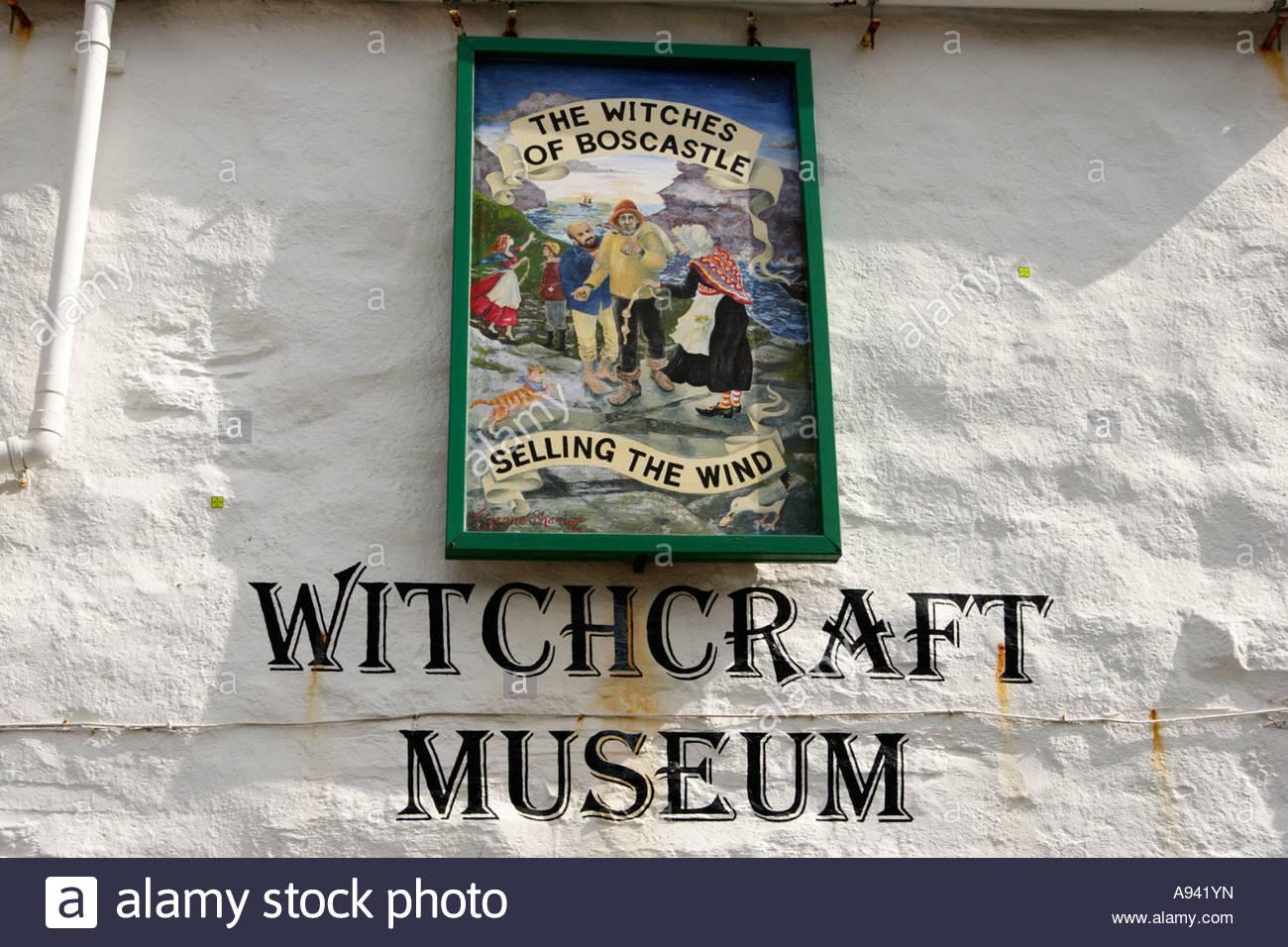 Witchcraft Museum, Boscastle, Cornwall, UK . - Stock Image