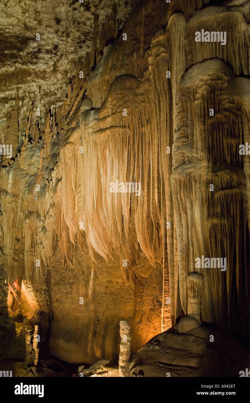 Blanchard Springs Cavern near Mountain View, AR Stock Photo