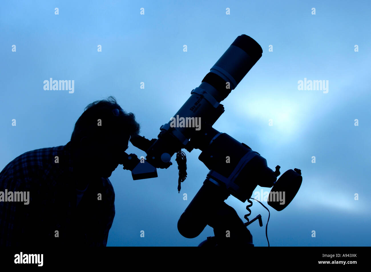 Astronomer - Stock Image