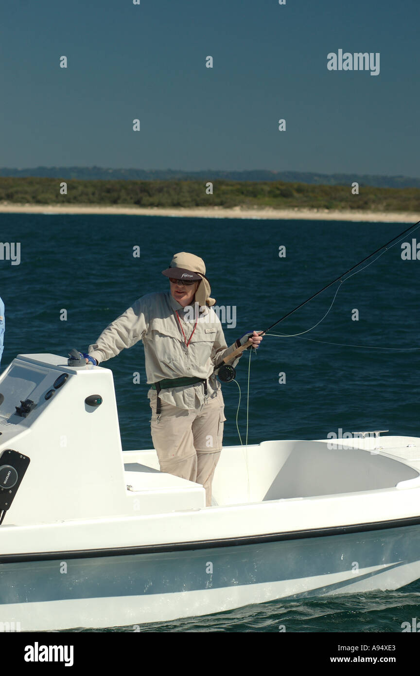 small fly fishing charter boat Maroochydore Queensland