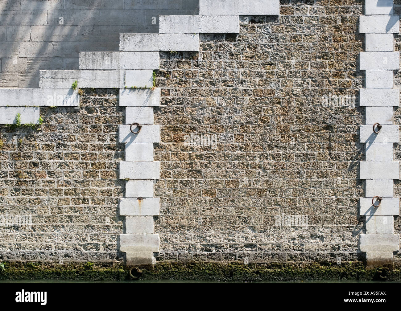 Wall, close-up - Stock Image
