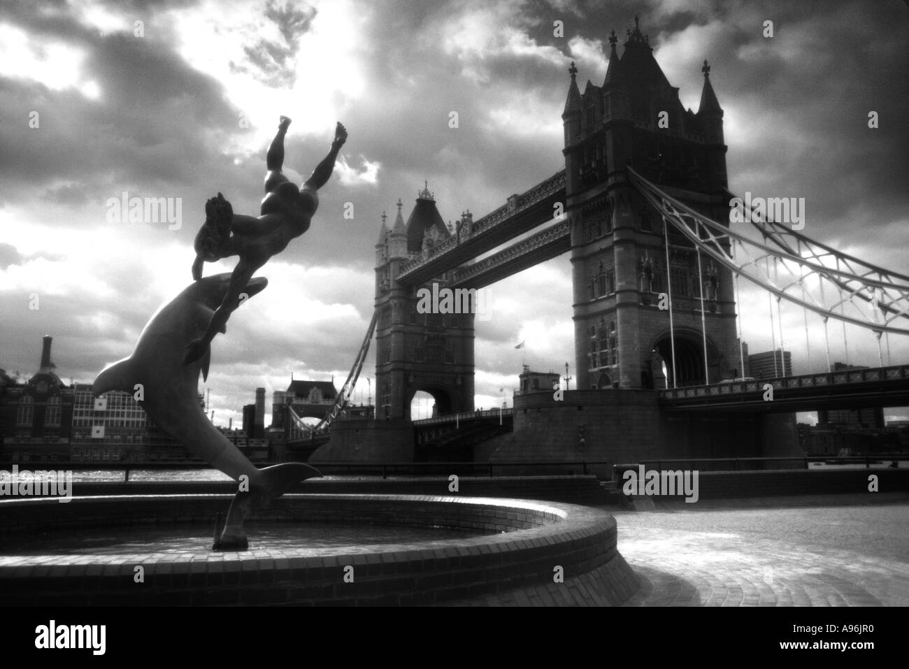 Tower Bridge London England UK Great Britain - Stock Image