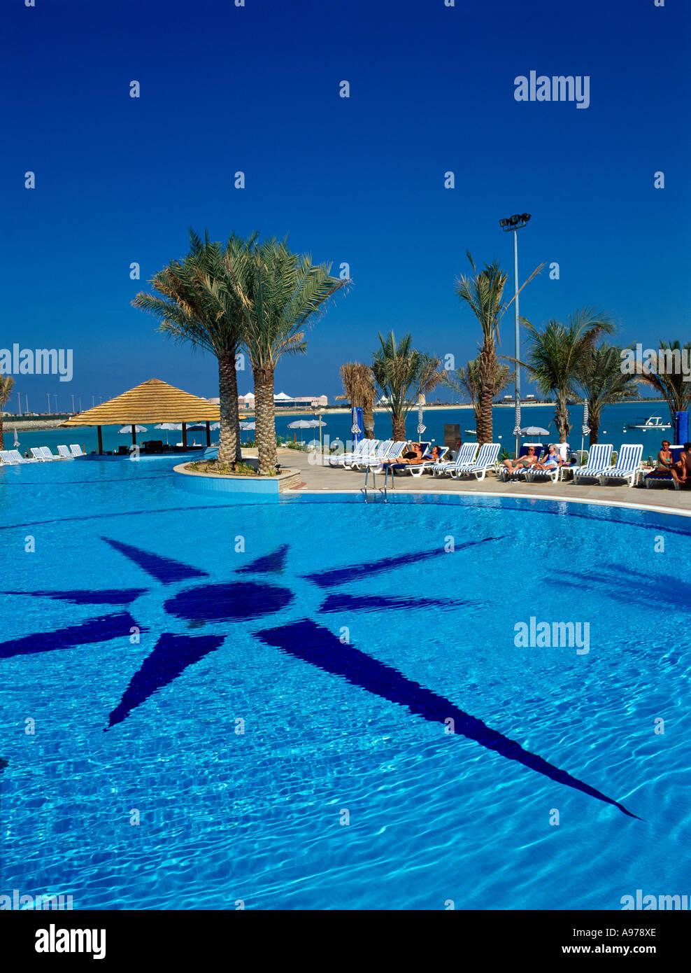 Hilton abu dhabi stock photos hilton abu dhabi stock - Swimming pool construction companies in uae ...