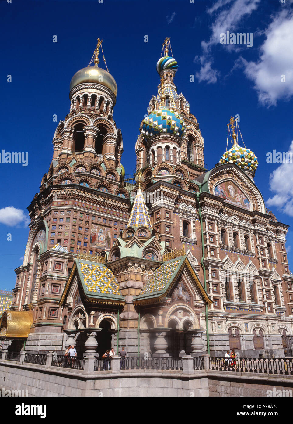 Church of the Resurrection of Christ - Stock Image