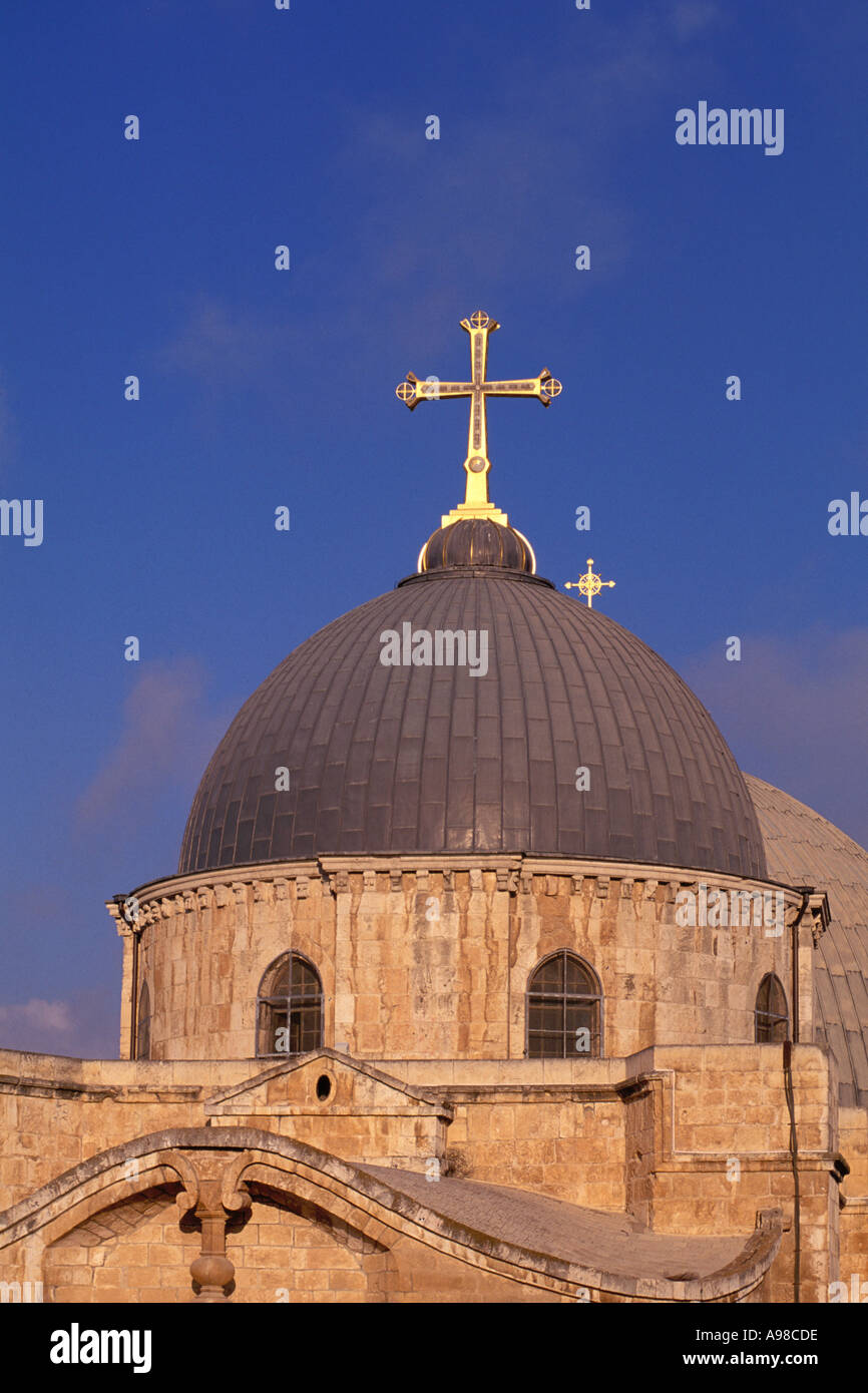 Israel, Jerusalem, Church of the Holy Sepulchre - Stock Image