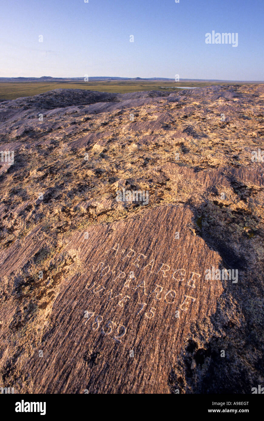 Names carved on independence rock future story