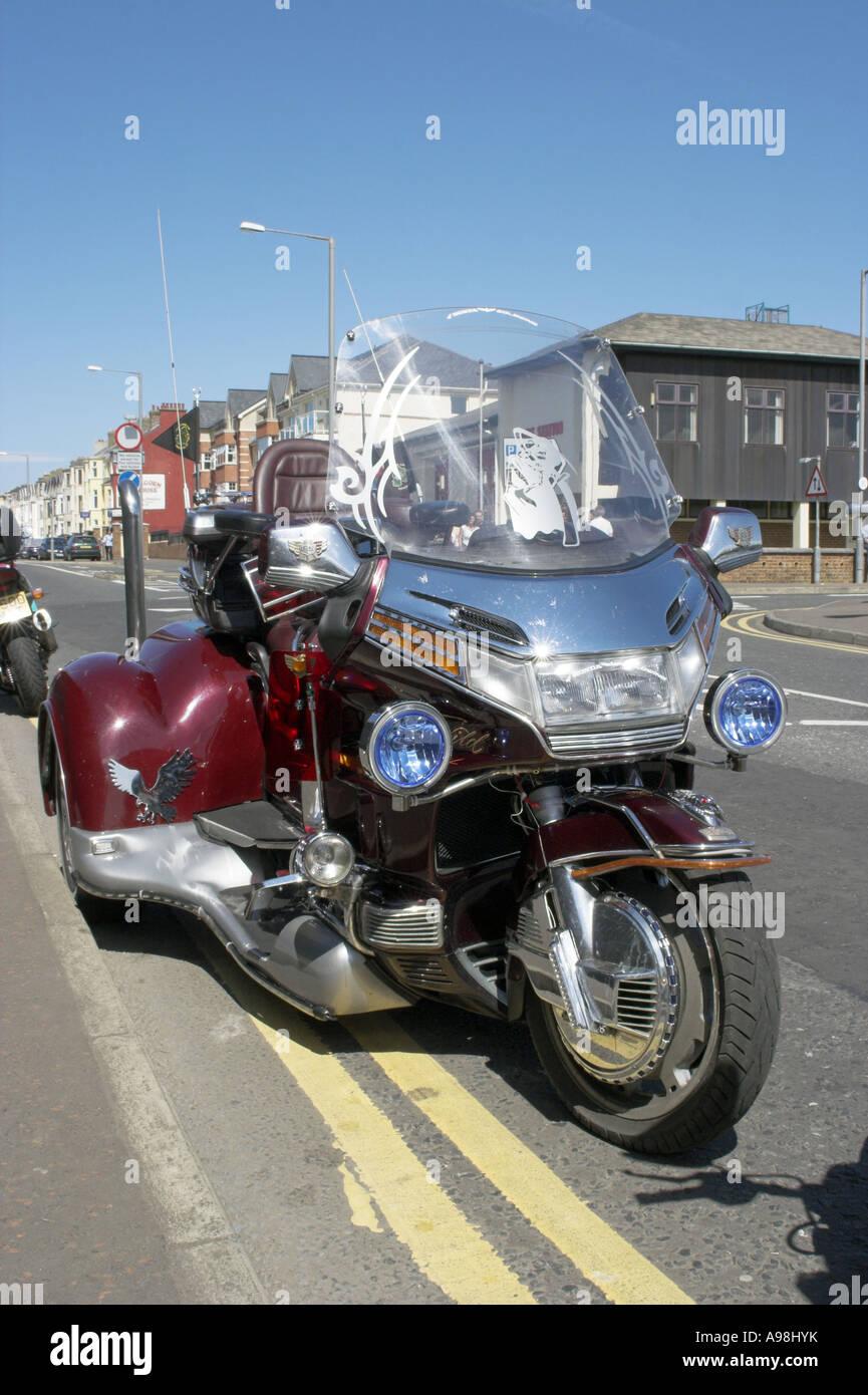 Honda Three Wheel Motorcycle Portrush Northern Ireland May 2007