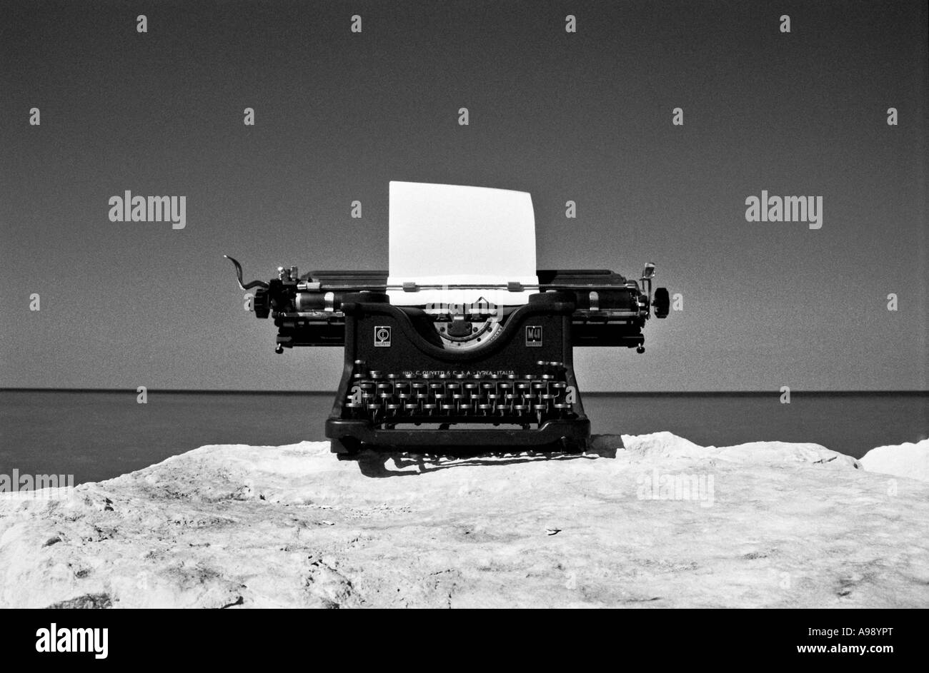Vintage typewriter - Stock Image