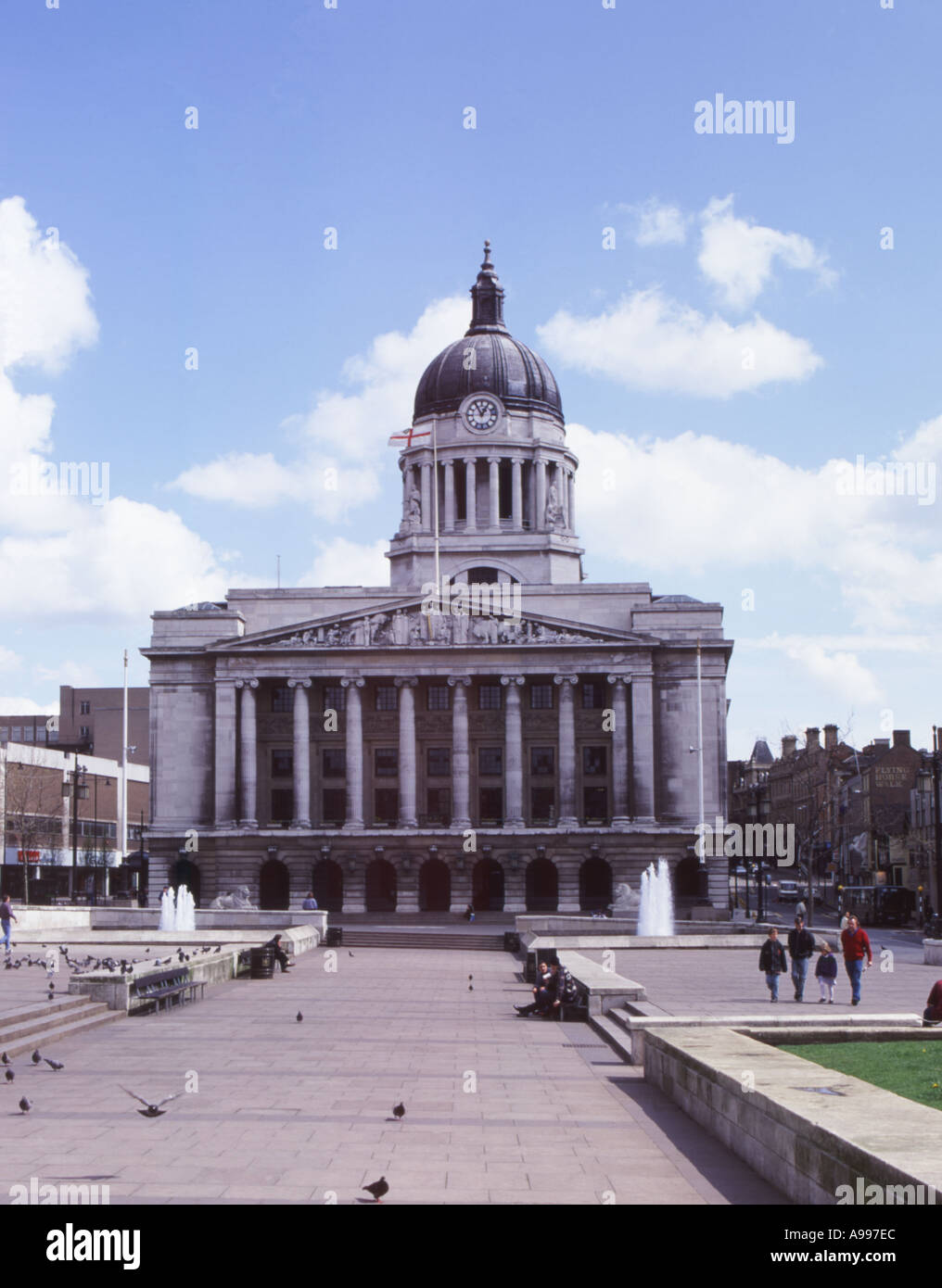 The Council House Nottingham - Stock Image