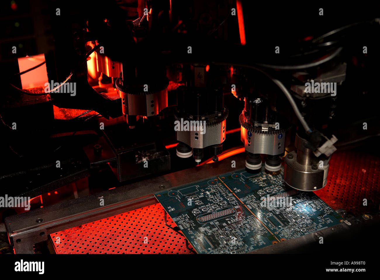 Automated Printed Circuit Board Manufacturing View Inside Automatic Making Machine Buy Soldering
