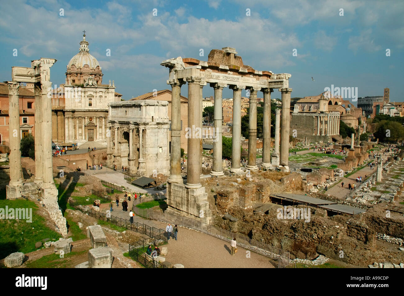 Ancient Rome - Stock Image