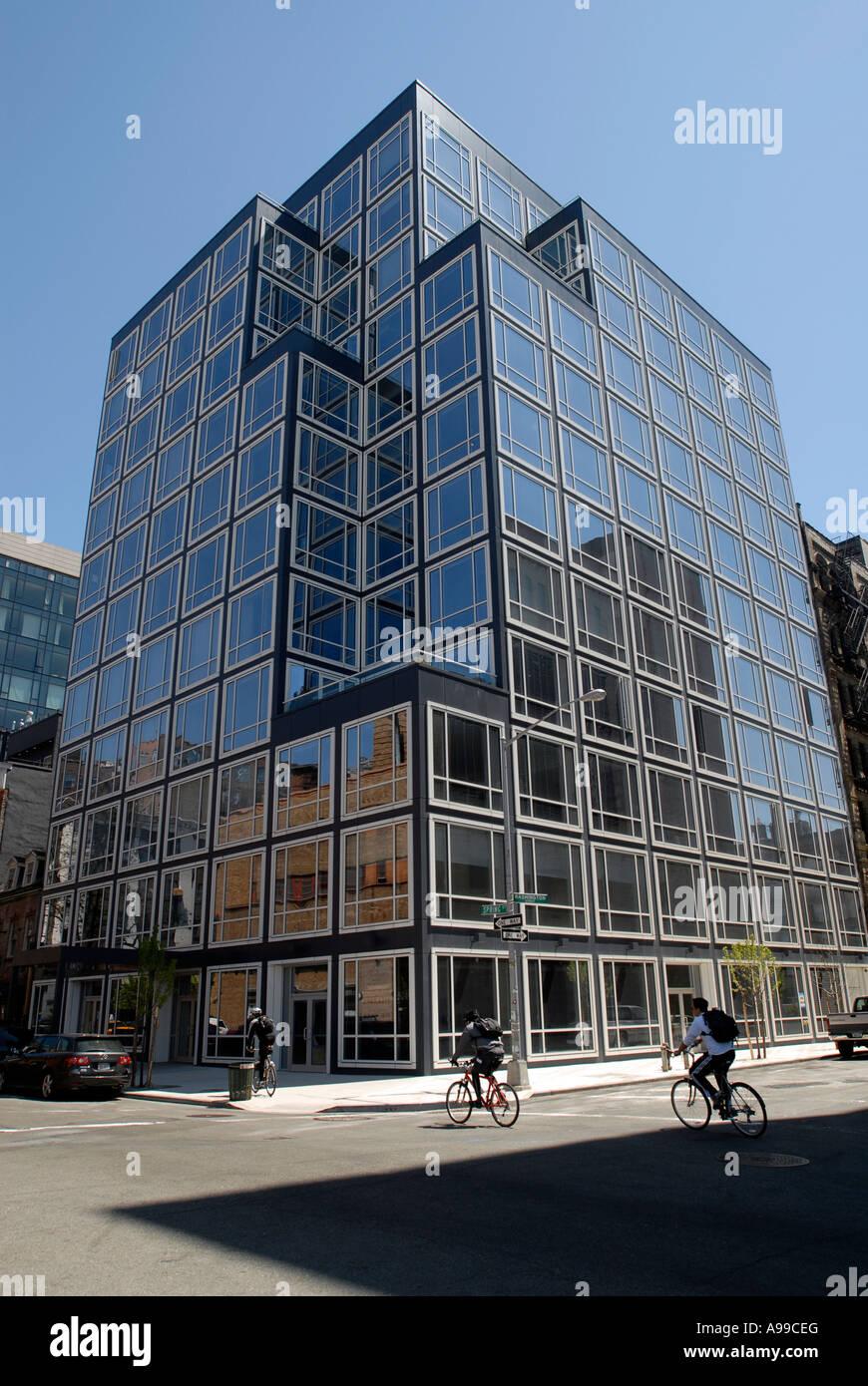 Philip Johnson Glass House philip johnson s urban glass house on spring street in new