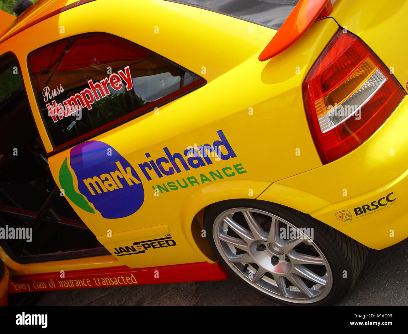 Motor racing car at an event England GB UK 2003 - Stock Image