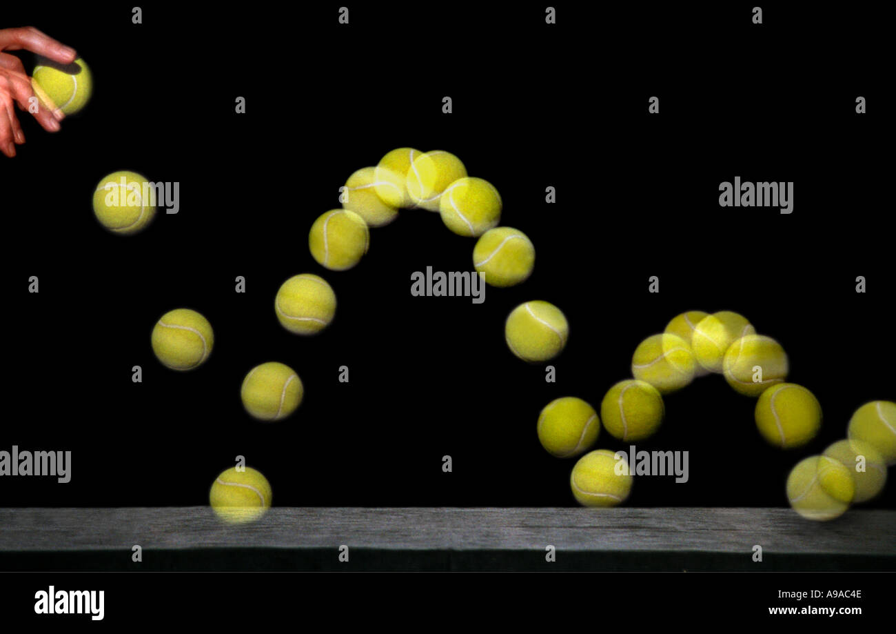 Tennis Ball Bounce Stock Photos Tennis Ball Bounce Stock Images