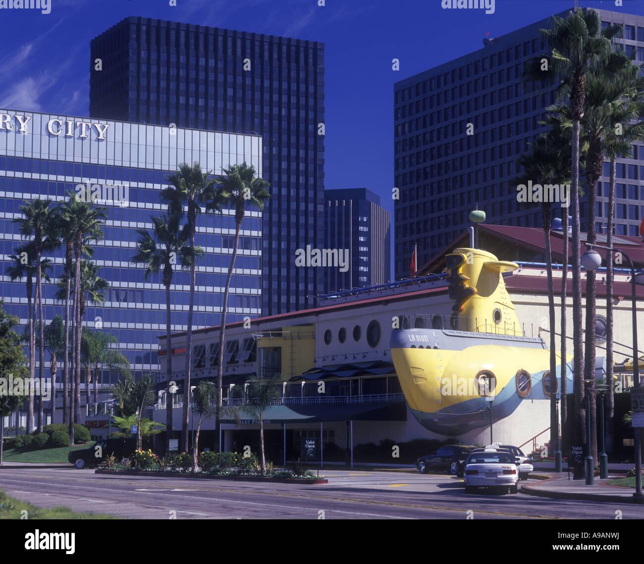 La Dive Restaurant Century City Los Angeles California Usa