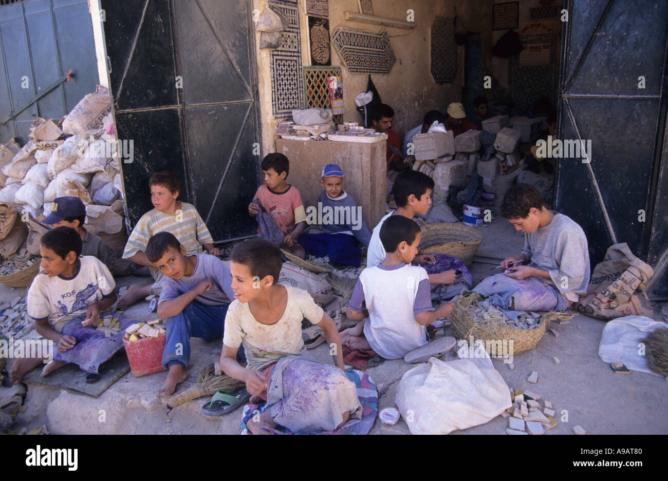 child labour - Stock Image