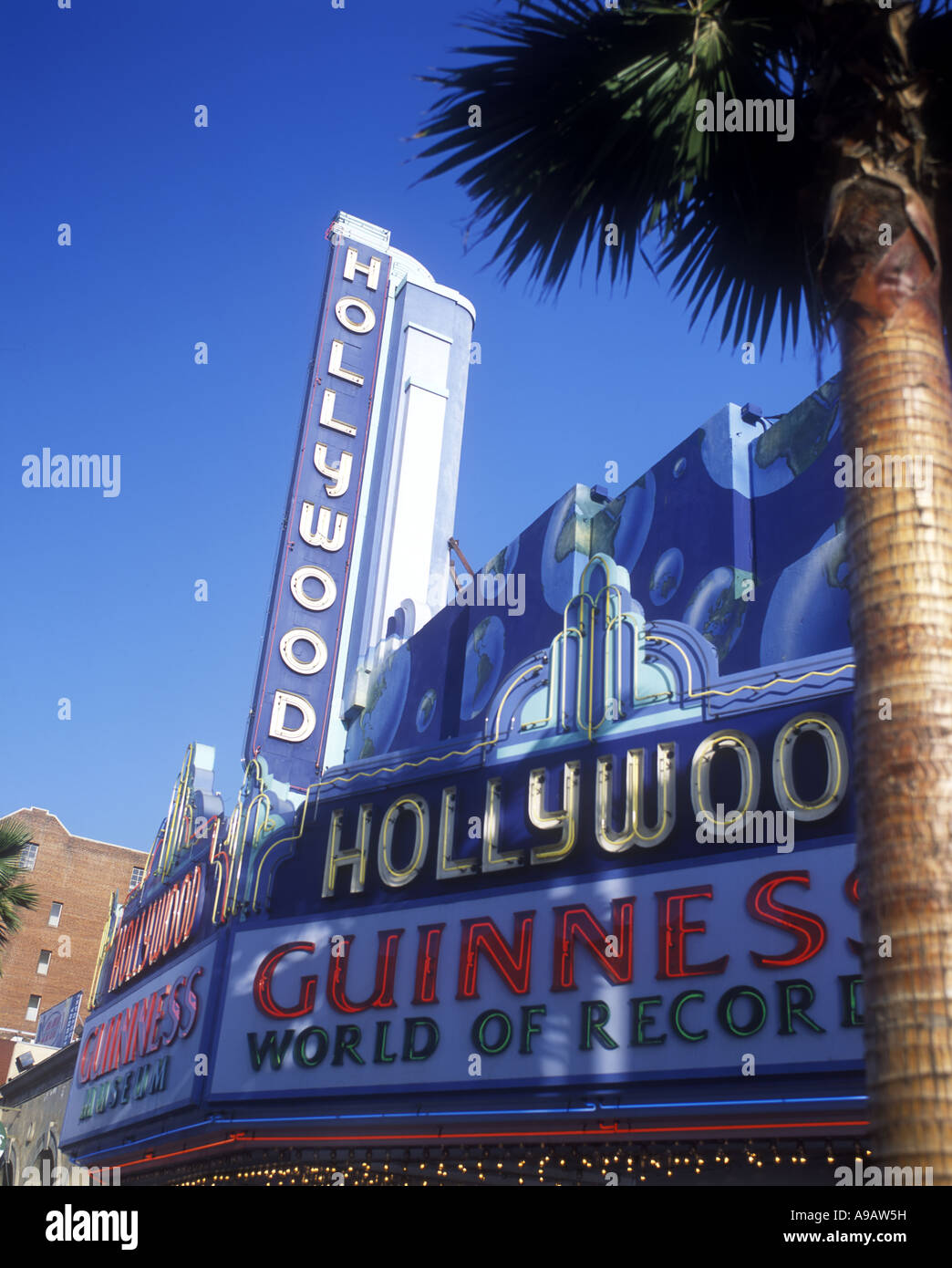 GUINNESS WORLD OF RECORDS MUSEUM HOLLYWOOD BOULEVARD LOS ANGELES CALIFORNIA USA - Stock Image