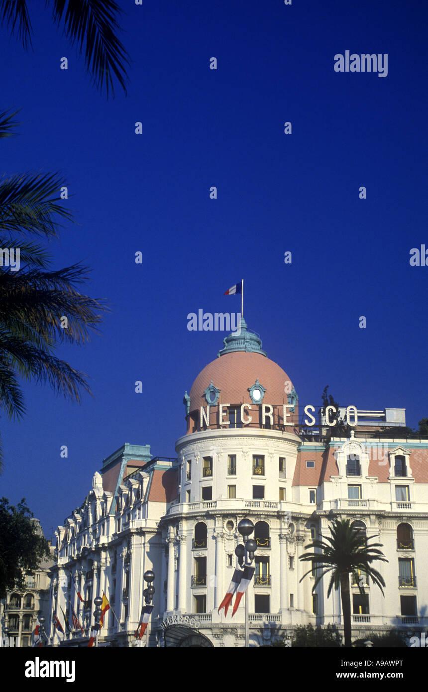 NEGRESCO HOTEL PROMENADE DES ANGLAIS NICE COTE D AZUR RIVIERA FRANCE Stock Photo
