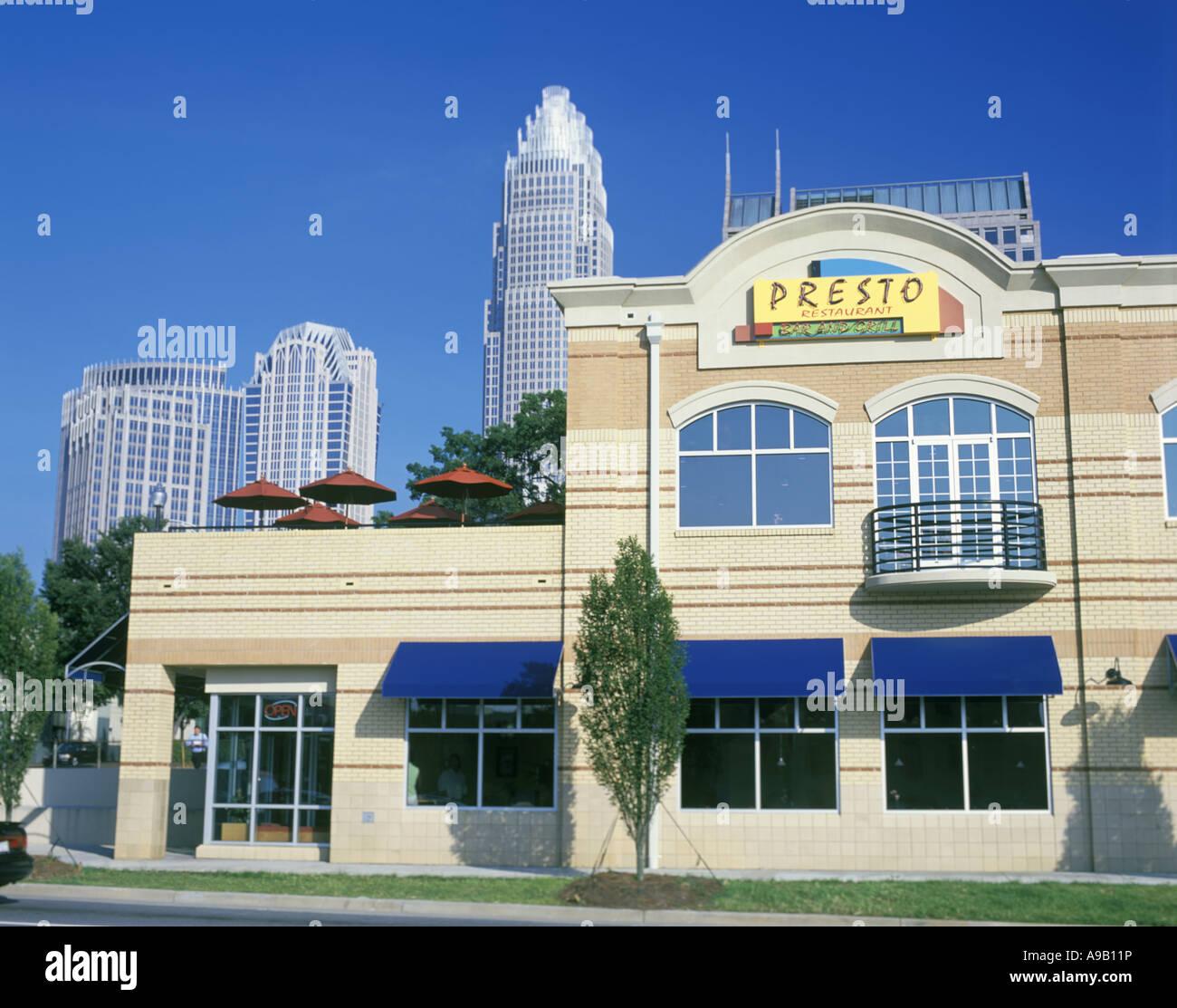 Cafes Restaurants South Graham Street Downtown Charlotte