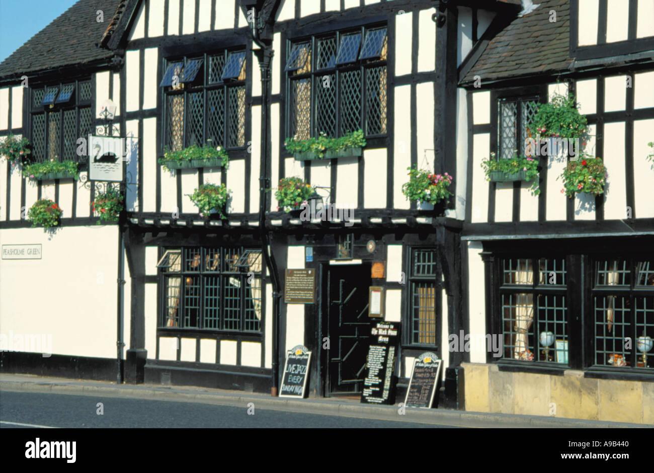 Black Swan, Peasholme Green, City of York, North Yorkshire, England, UK. - Stock Image