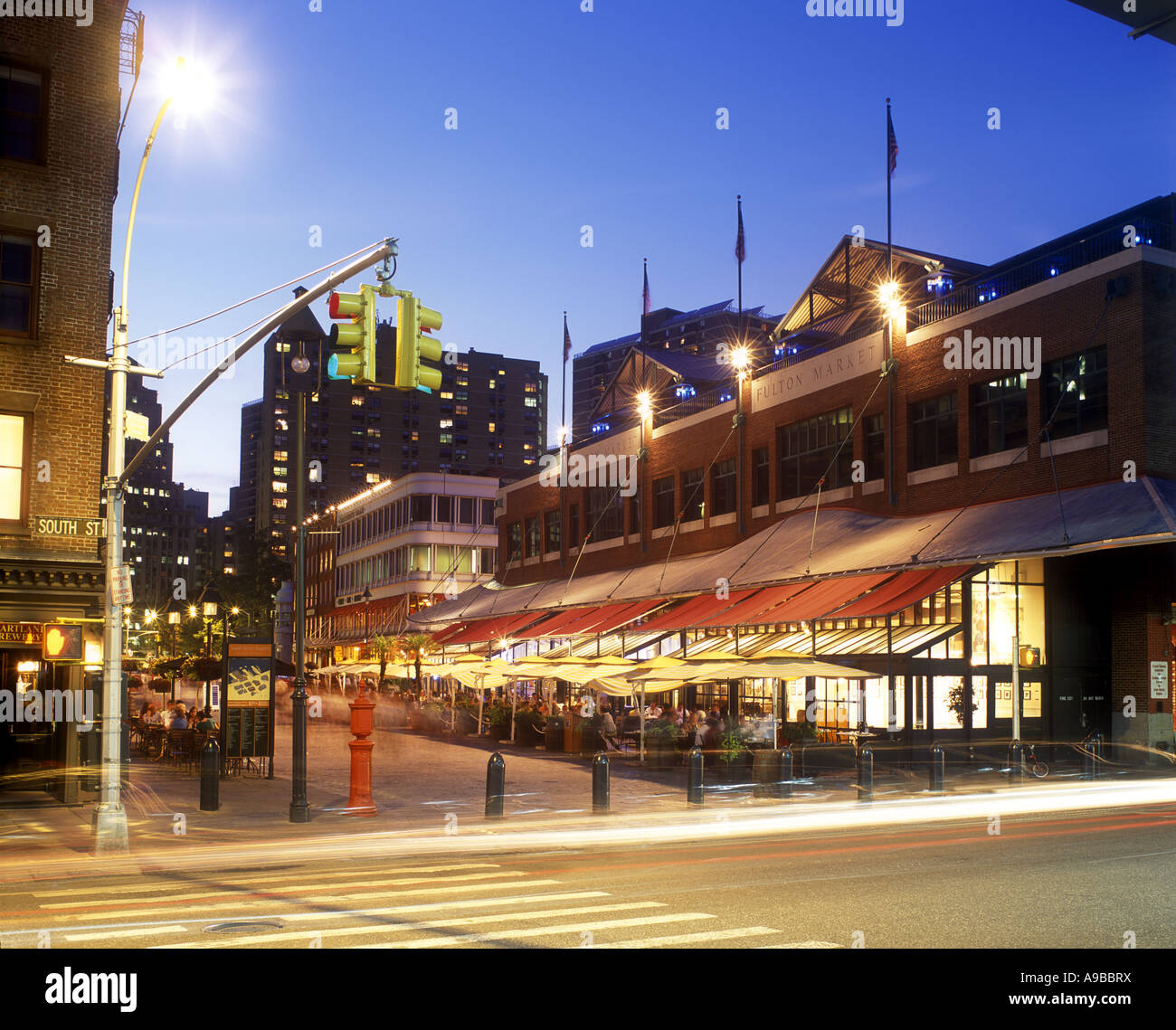 Restaurants South Street Seaport Downtown Manhattan New York