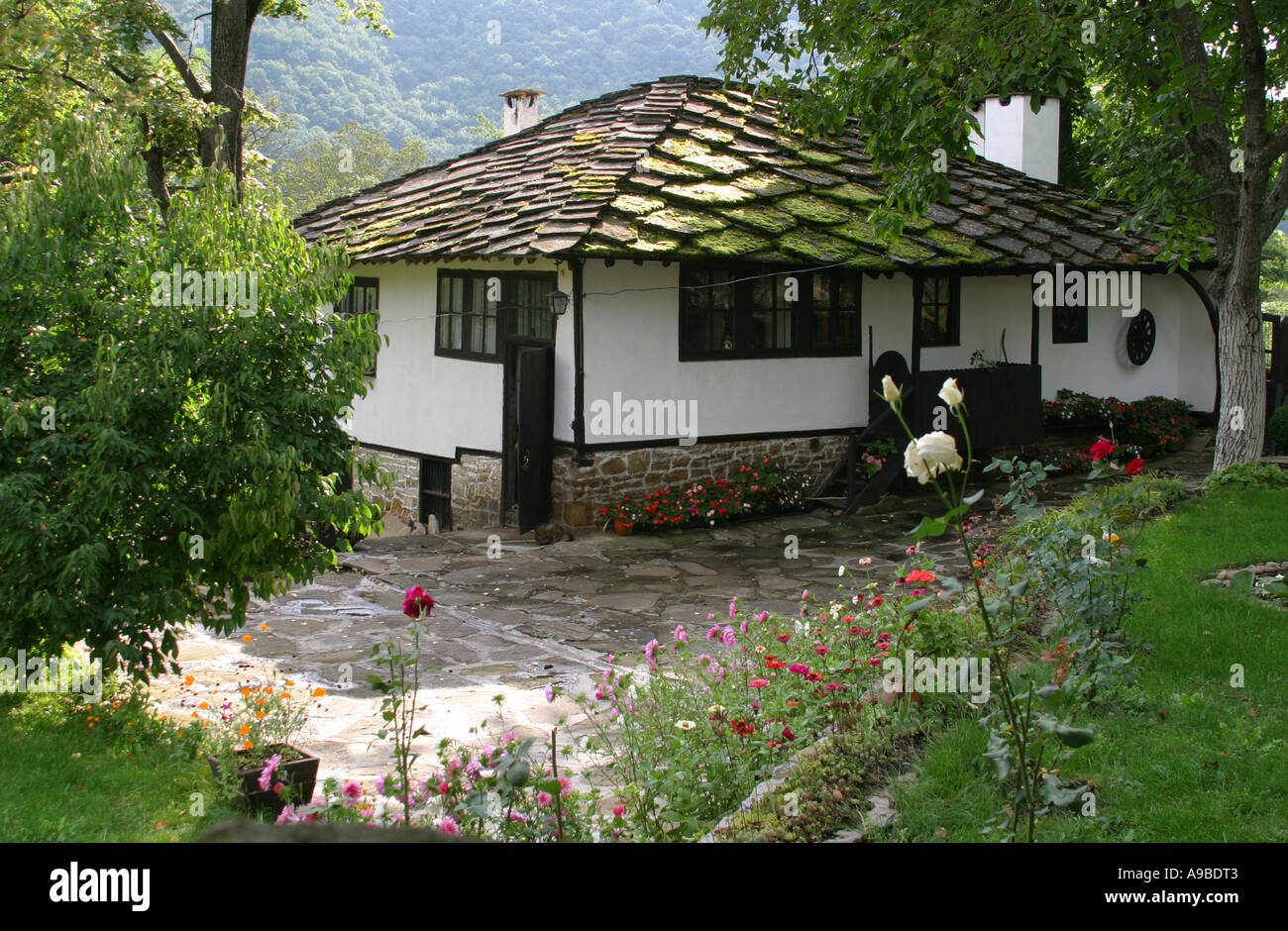 Old Traditional Hous In Village Bojenci, Bulgaria
