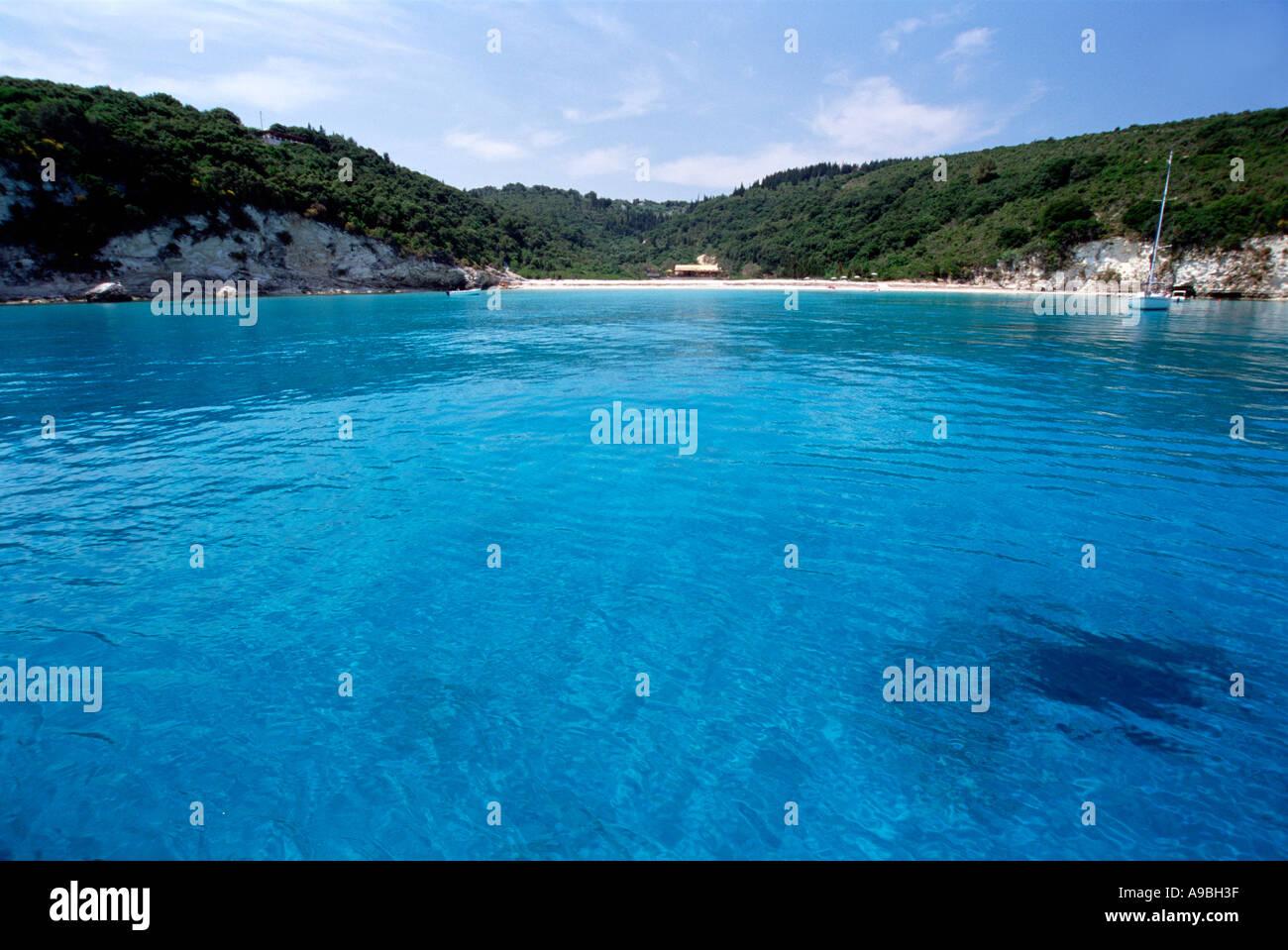 Anti Paxos Corfu Greece - Stock Image