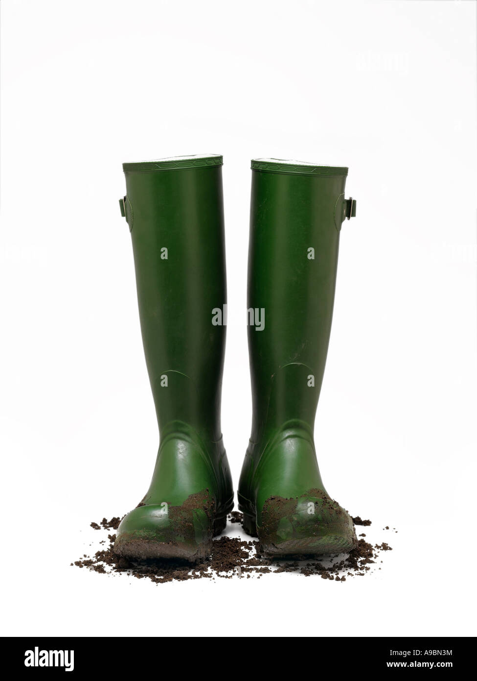 wellington boots - Stock Image